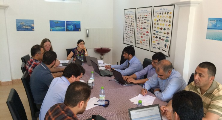 Curriculum Development Workshop for Kabul University Staff Members